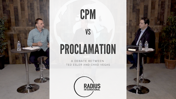 Church Planting Movement Model vs the Proclamational Model