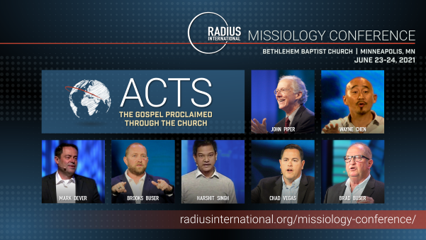 Radius Missiology Conference 2021