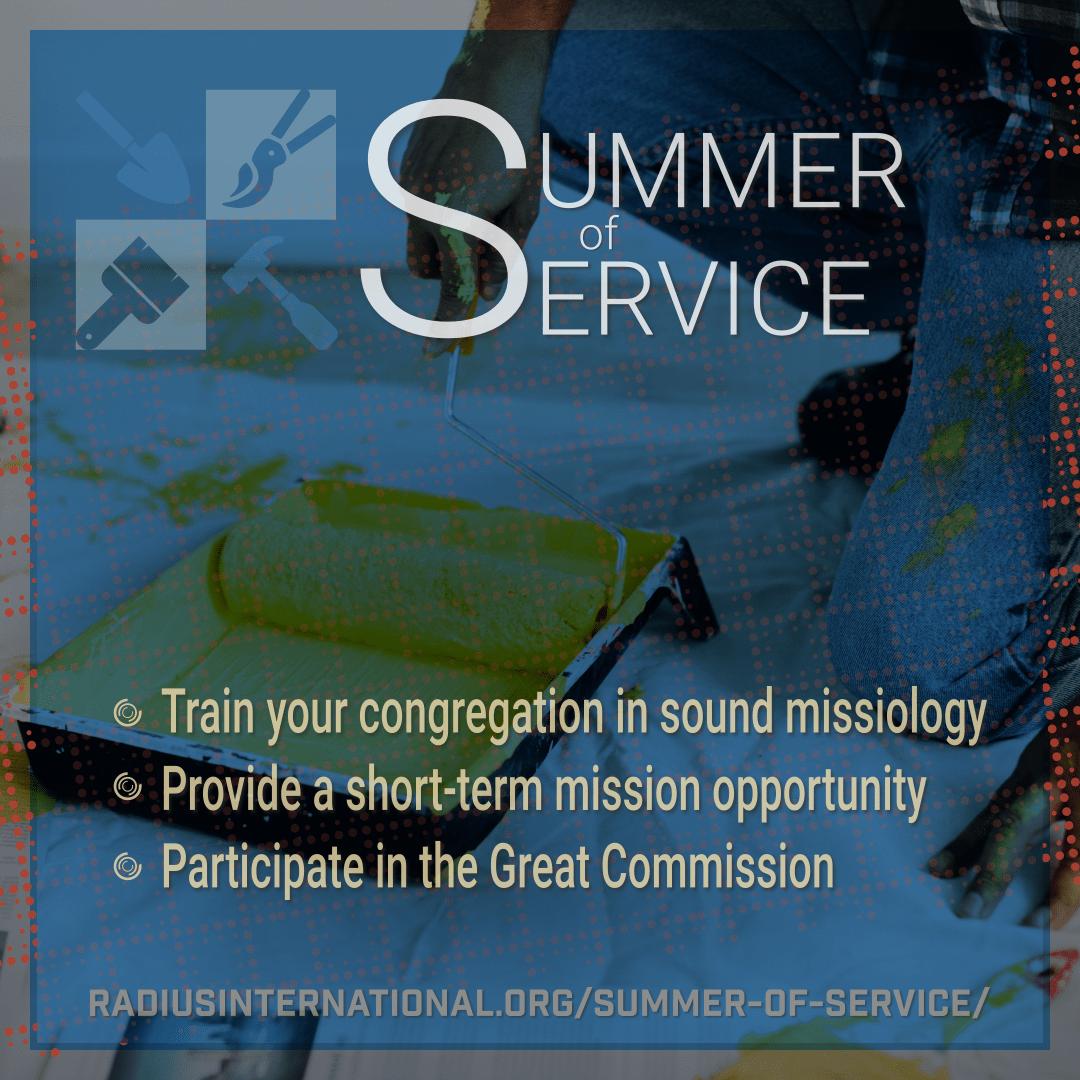 Summer of Service at Radius