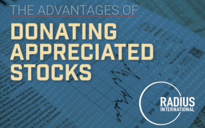 The Advantages of Donating Appreciated Stocks